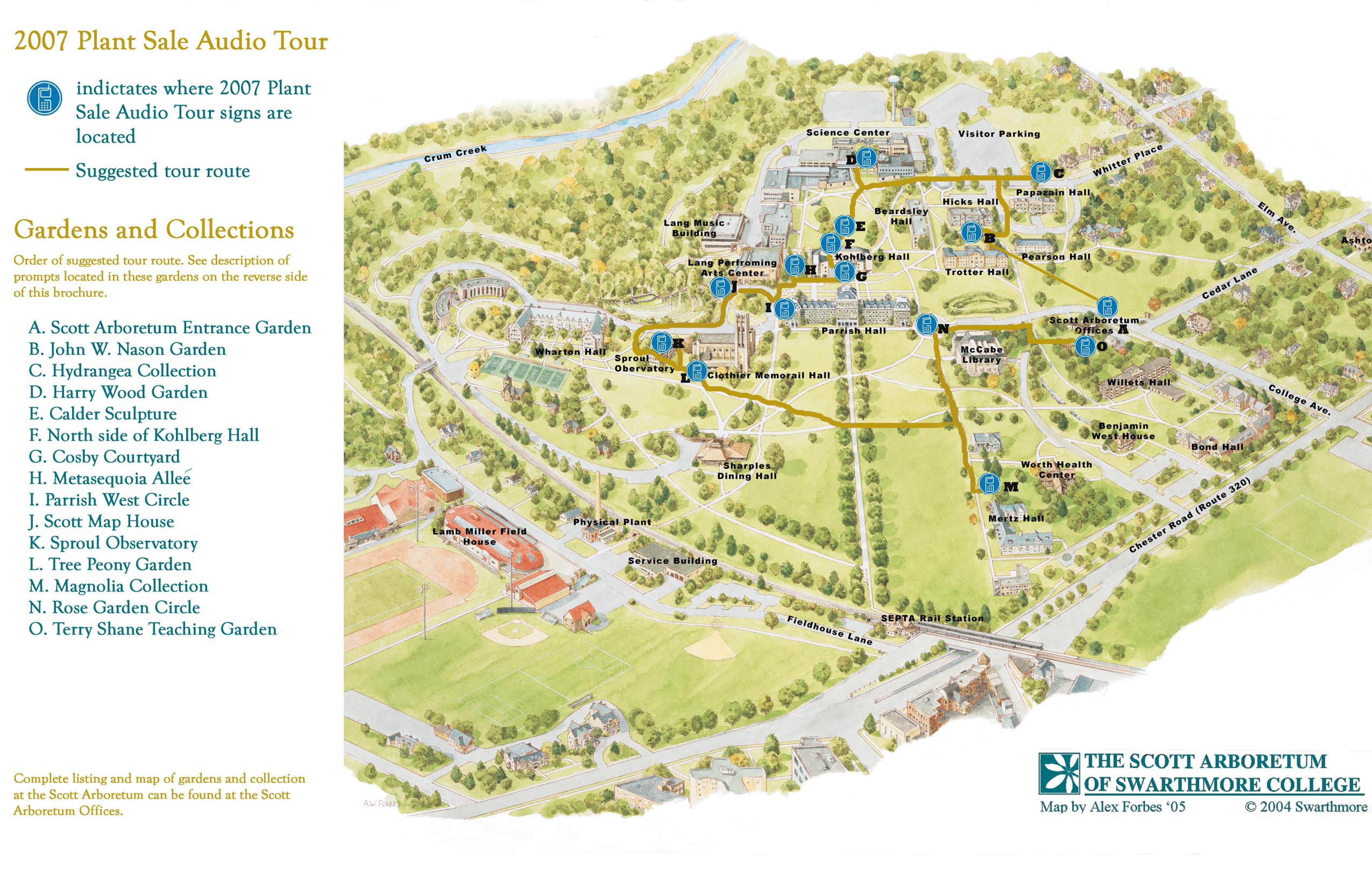 Swarthmore Whittier College Campus Map Www Miifotos Com